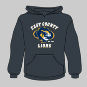 EC Lions - Youth Heavy Blend™ Hooded Sweatshirt