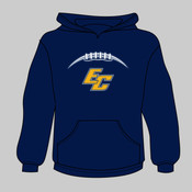 EC Football - Youth Heavy Blend™ Hooded Sweatshirt