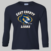 EC Lions - Ultra Cotton™ Youth Long Sleeve T-Shirt