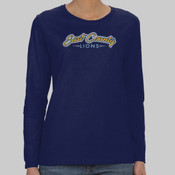 EC Script - Heavy Cotton™ Ladies' 5.3 oz. Missy Fit Long-Sleeve T-Shirt