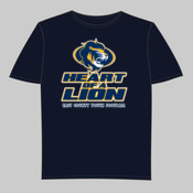 EC Heart - Youth Short-Sleeve Compression Tee