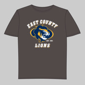 EC Lions - Youth Short-Sleeve Compression Tee