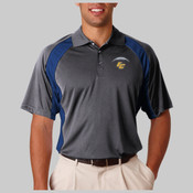 EC Small - UltraClub® Adult Cool & Dry Sport Performance Color Block Interlock Polo